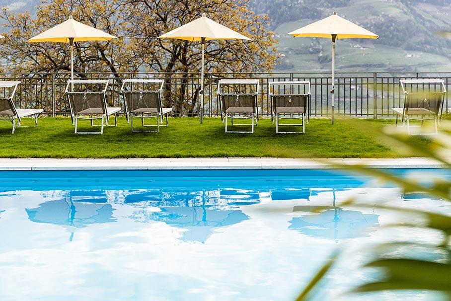 Hotel in Dorf Tirol mit Pool - Hotel Krause